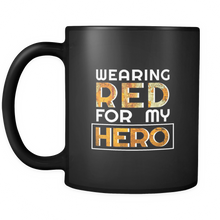 RED Friday, Military, Remember Veteran U.S.A Wear Red My Hero 11oz Mug