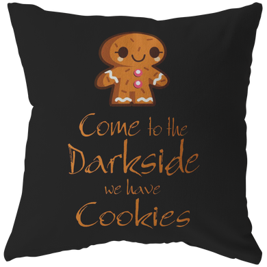 Halloween Night Come To The Dark Side Pillow