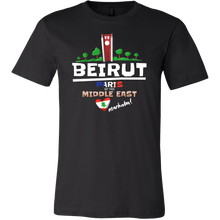 Beirut Paris of the Middle East Love Lebanon Country Shirt