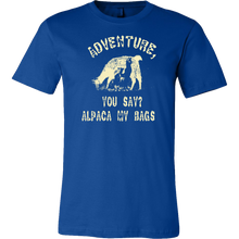 Adventure, Alpaca My Bags Funny Pun Jokers Gift T-Shirt