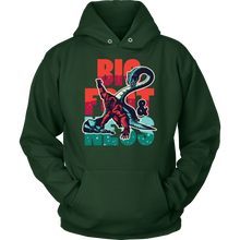 BigFoot and Loch Ness Monster Myth Funny Hoodie