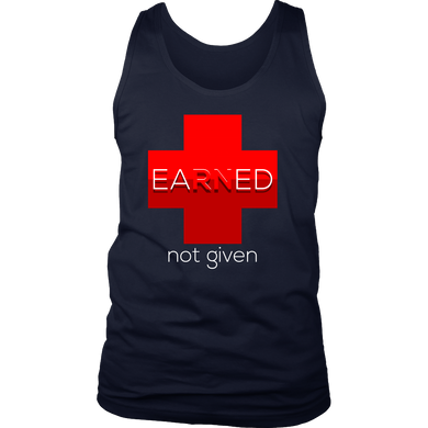 Nurses National Week Awareness, Earned Not Given Tank