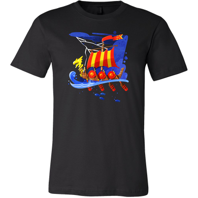 Viking Boat Mythology Historical Viking T Shirt