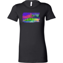 Damascus Skyline Horizon Sunset Love Syria Bella Shirt