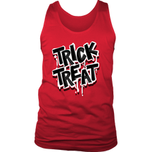 Halloween Trick or Treat Costume Men's tank