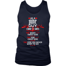 June Guy,Crazy, Sweet and Fun Birthday B Day Gift Men's tank