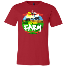Support Local Farming Life Is Better On The Farm Farmer's T Shirt