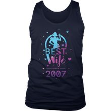 Best Wife 10th Wedding Anniversary Gift Men's Tank