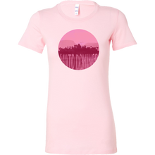 Santo Domingo Skyline Horizon Sunset Love Bella Shirt