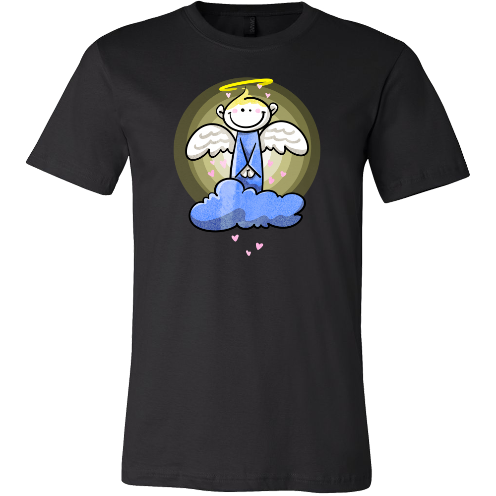 Angel Smiley Face Cute Cartoon Costume Gift T Shirt