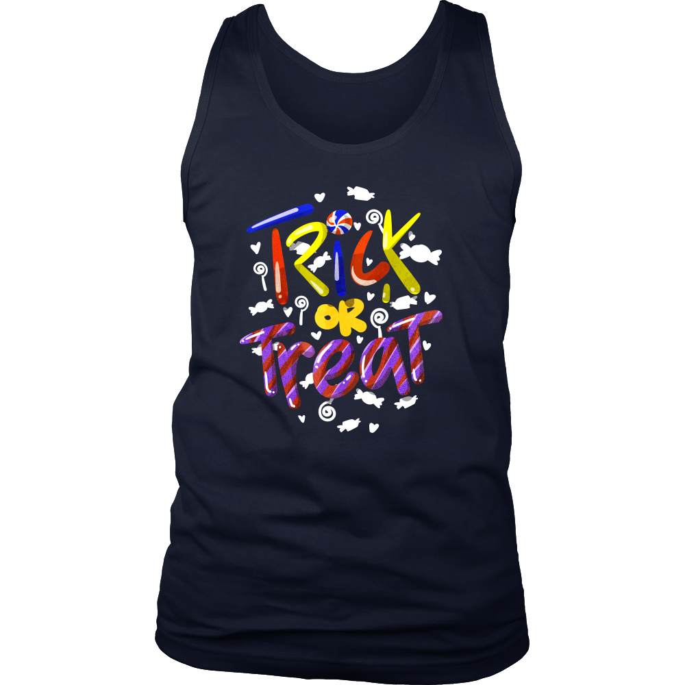 Halloween Trick or Treat Sweets Costume Men's tank