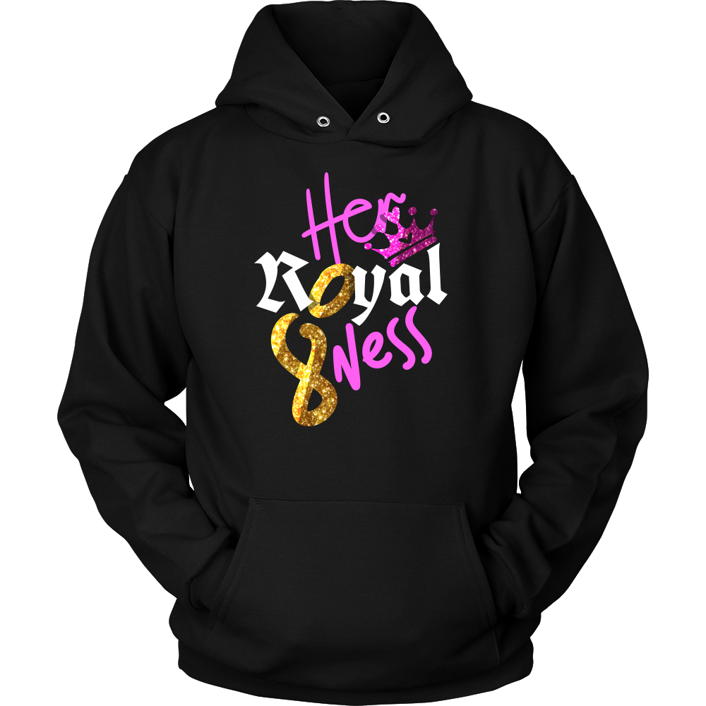 Royal 8 Year Old, Eighth Birthday B-day Party Gift Hoodie