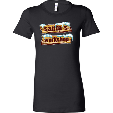 Santas Workshop Christmas Costume Bella Shirt Gift
