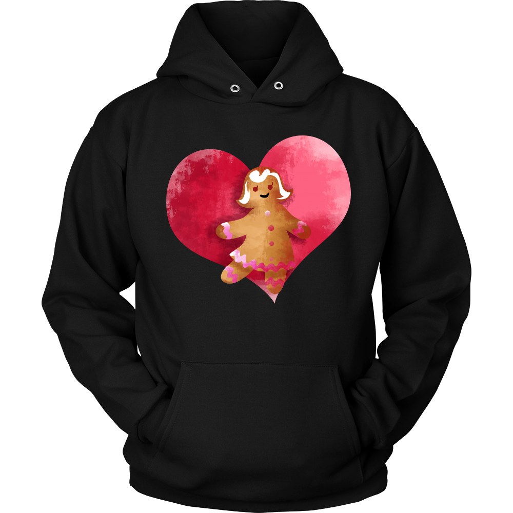 Gingerbread Woman Christmas Costume Hoodie Xmas Gift