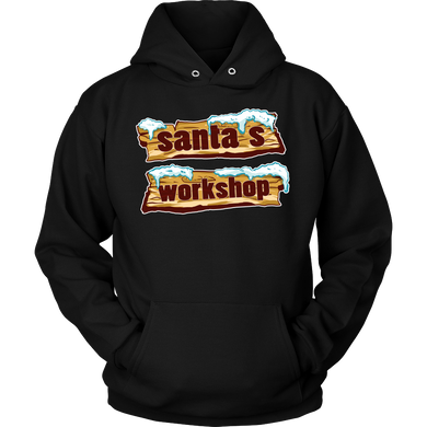 Santas Workshop Christmas Hoodie Gift