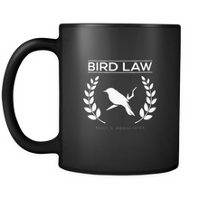 Bird Law Cute Birdy Lawyer Association Black 11oz mug