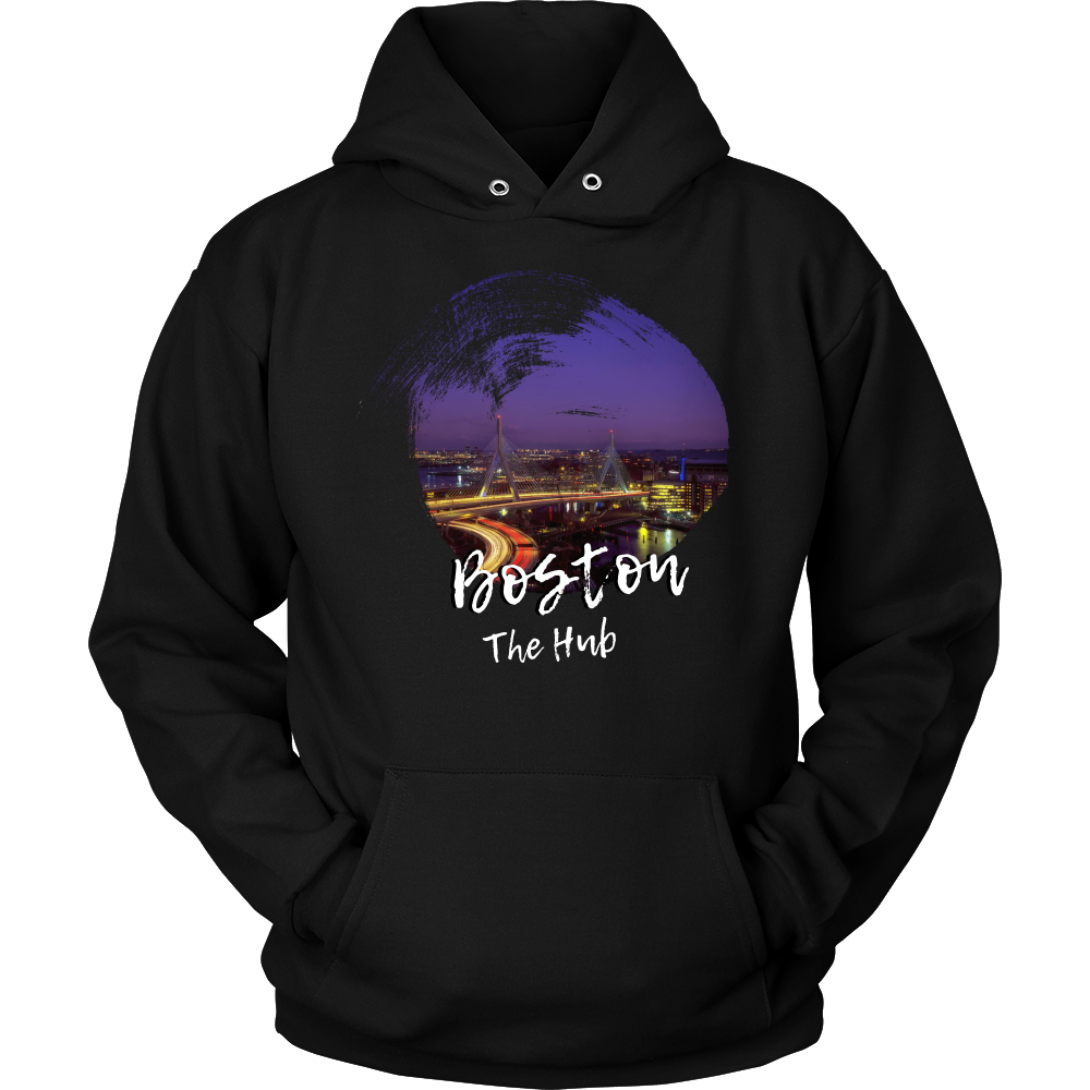 Boston The Hub Skyline Love Country Hoodie