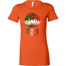 Italy Skyline Horizon Sunset Love Italian Bella Shirt