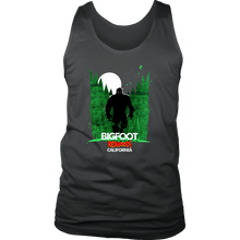 Bigfoot California Redwoods Witty,Funny Bigfoot Gift Men's Tank