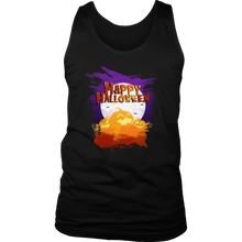 Halloween Night Happy Halloween Costume Men's tank