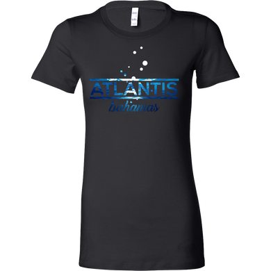 Bahamas Atlantis, Beach, Sea and Sun Underwater Bella T-shirt