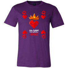 Evil Queen At Heart Funny Pun Jokers Gift T-Shirt