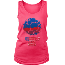 United States of America Skyline Horizon Sunset Country Women's Tank