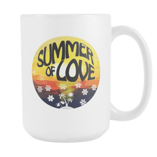 Summer Of Love Summertime Sunset Holiday White 15oz Mug