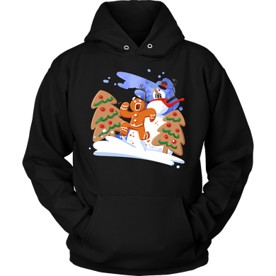 Gingerbread Man Christmas Costume Hoodie Gift