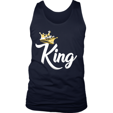 King Design on King and Queen Tank