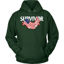 Survivor Veterans Day Support and Honor Hoodie