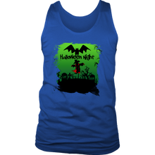 Halloween Night Costume Scarecrow Men's tank
