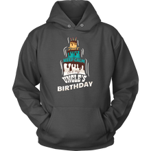 Keep Calm Its My Uncle's Birthday Funny B Day Hoodie
