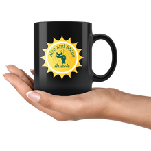 Rise And Shine Asshole, Funny 11oz. Ceramic Black Mug, Cat Lovers Gift