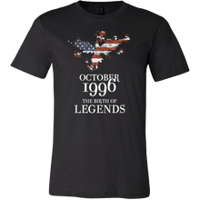 October 1996 The Birth of Legends Birthday T shirt