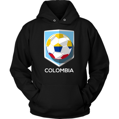 Colombia Hoodie Colombian Flag Hoodie Football and Soccer Souvenir