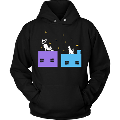 Cat Love Cats Pet Cats Lover Gift Hoodie