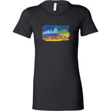 East Jerusalem Skyline Horizon Sunset Love Bella Shirt