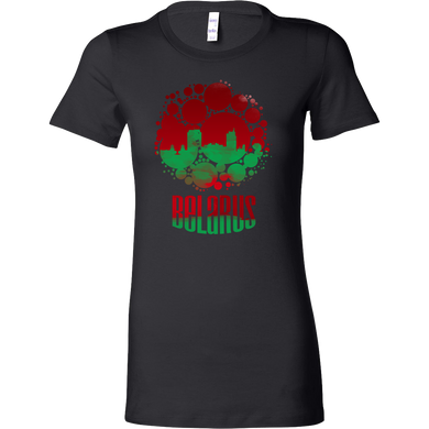 Belarus Skyline Horizon Sunset Love Country Bella Shirt