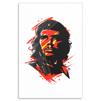 Che Guevara Argetine Leader Retro Canvas Art
