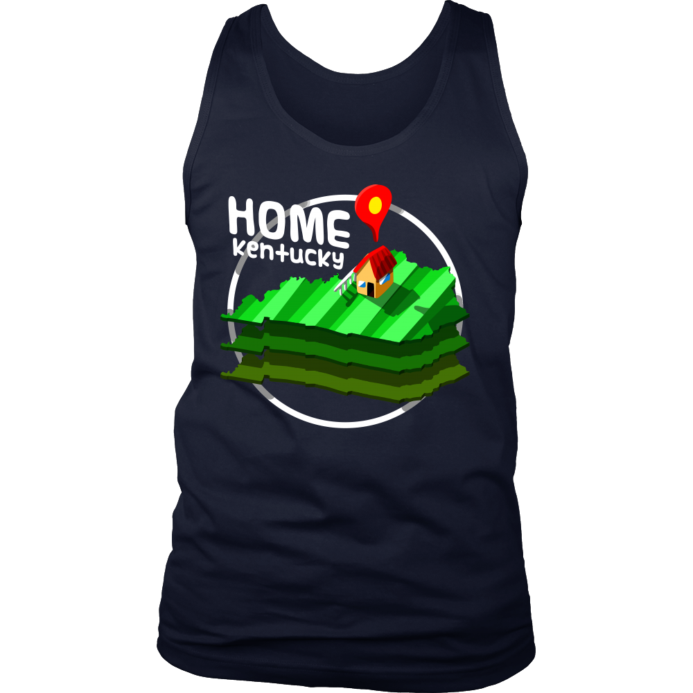 Kentucky State is my Home, US American Pride Tank