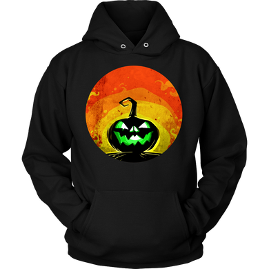 Halloween Night Happy Halloween Scary Face Costume Hoodie