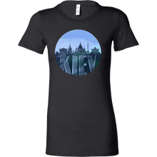 Kiev Skyline Horizon Sunset Love Ukraine Bella Shirt