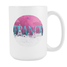 France Skyline Horizon Sunset Love Everything French White 15oz Mug