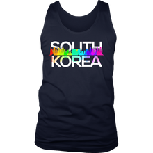 South Korea Skyline Cityscape Colors Tank