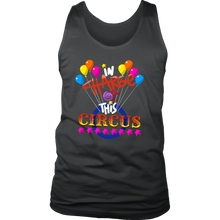 Babysitter Ringmaster, In Charge of Circus Funny Men's tank