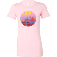 Addis Ababa Skyline Horizon Sunset Love Ethiopia Bella Shirt