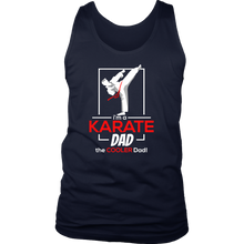 Cool Karate Dad, Dads Karate Martial Arts Tank