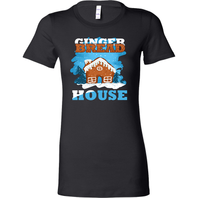 Gingerbread House Christmas Costume Bella Shirt Gift