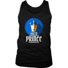 I am Her Prince Royalty Matching Couple Men's tank